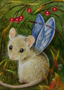 fairy mouse Melody Lealamb